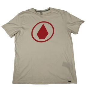 Volcom Modern Fit T-shirt Large Cream
